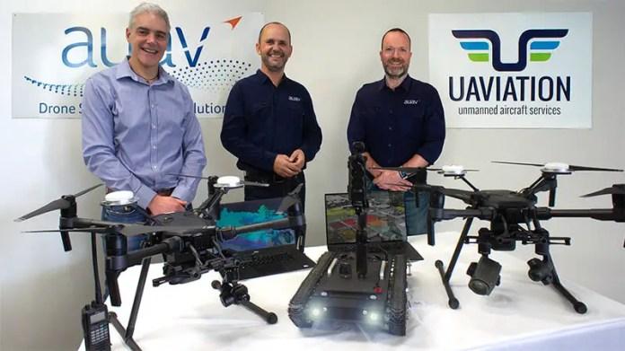 AUAV Uaviation announcement small