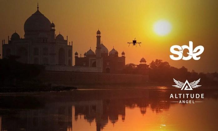 Sagar Defence Altitude Angel Drone Flight