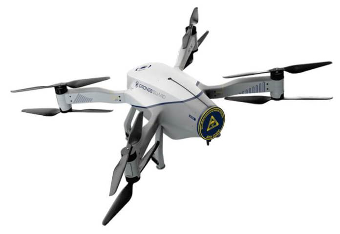 Axis and Azur Drones accomplice to strengthen perimeter surveillance - sUAS Information 3