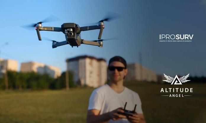Altitude Angel Iprosurv Data Integration