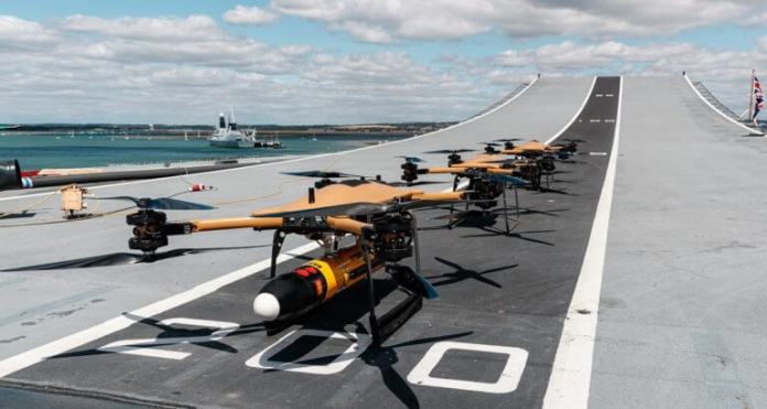Royal Navy Shows Commitment to Drone Technology for Future Operations 770x410 1
