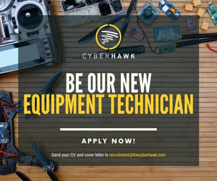 cyberhawk equipment technition