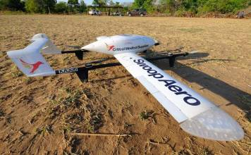 swoop aero medical delivery drone