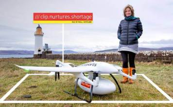 Royal Mail Delivery Drone Mull