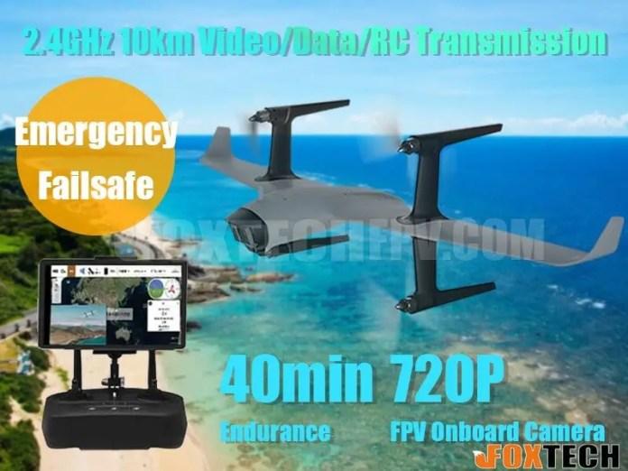 H-WING VTOL FPV Flying Wing RTF Package deal - sUAS Information 1