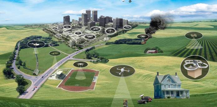 Pierce Aerospace Integrates Distant ID with FAAD C2 in Dense City Surroundings UAS Experiments with the US Military - sUAS Information 1