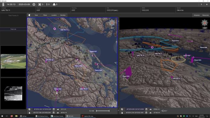 """Kongsberg Geospatial Improves BVLOS Drone Operations Security with a """"Horizonless Air Image"""" - sUAS Information 5"""