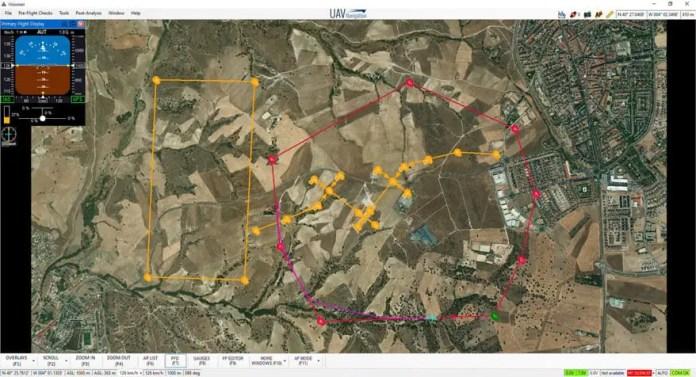 Surrounding Visitors Visualization for ACAS by UAV Navigation - sUAS Information 4