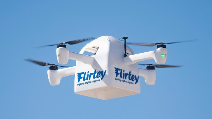 Flirtey and Vault Conduct Drone Deliveries of At-House COVID-19 Take a look at Kits - sUAS Information 1