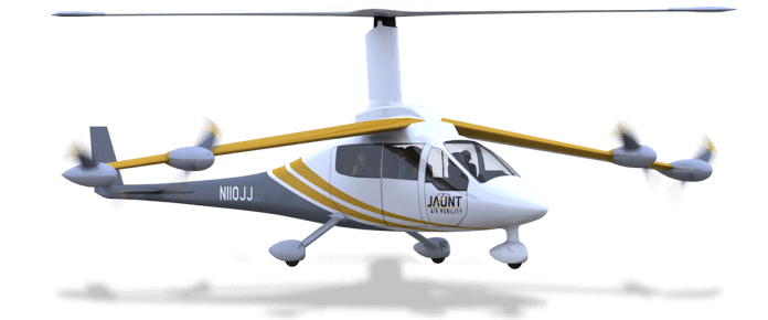 Jaunt awarded Air Drive Analysis contract for superior thermoplastics and manufacturability for low-cost eVTOL Plane Manufacturing - sUAS Information 1
