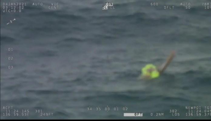 ViDAR Optical Radar detects lone overboard sailor off Northern Australia - sUAS Information 5