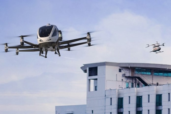EHang to Show Medical Air Mobility through Participation in EU-supported SAFIR-Med Venture - sUAS Information 1