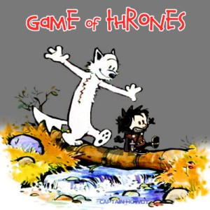 jon snow and ghost calvin and hobbes