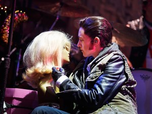 Lena Hall as Yitzhak on Broadway