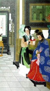 """The portray of Wang Xifeng in """"The Dream of the Red Mansion"""""""