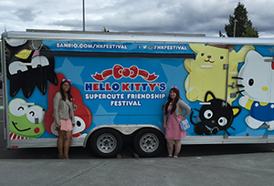 Hello Kitty Trailer