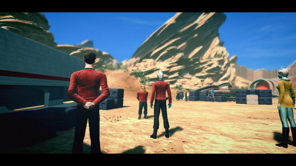 Star Trek, Star Trek Online, Agents of Yesterday, Gorn, Arena