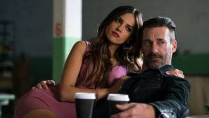 "Eiza González & Jon Hamm are Darling & Buddy in ""Baby Driver"""