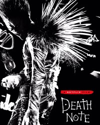 Death Note poster featuring Ryuk