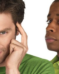 James Roday and Dule Hill star in Psych