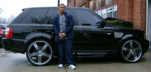 Ray Rice's Custom Range Rover Sport