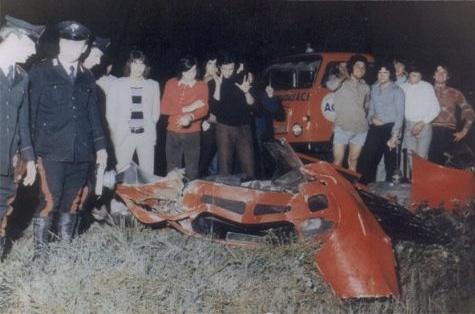Lamborghini Miura Wreck