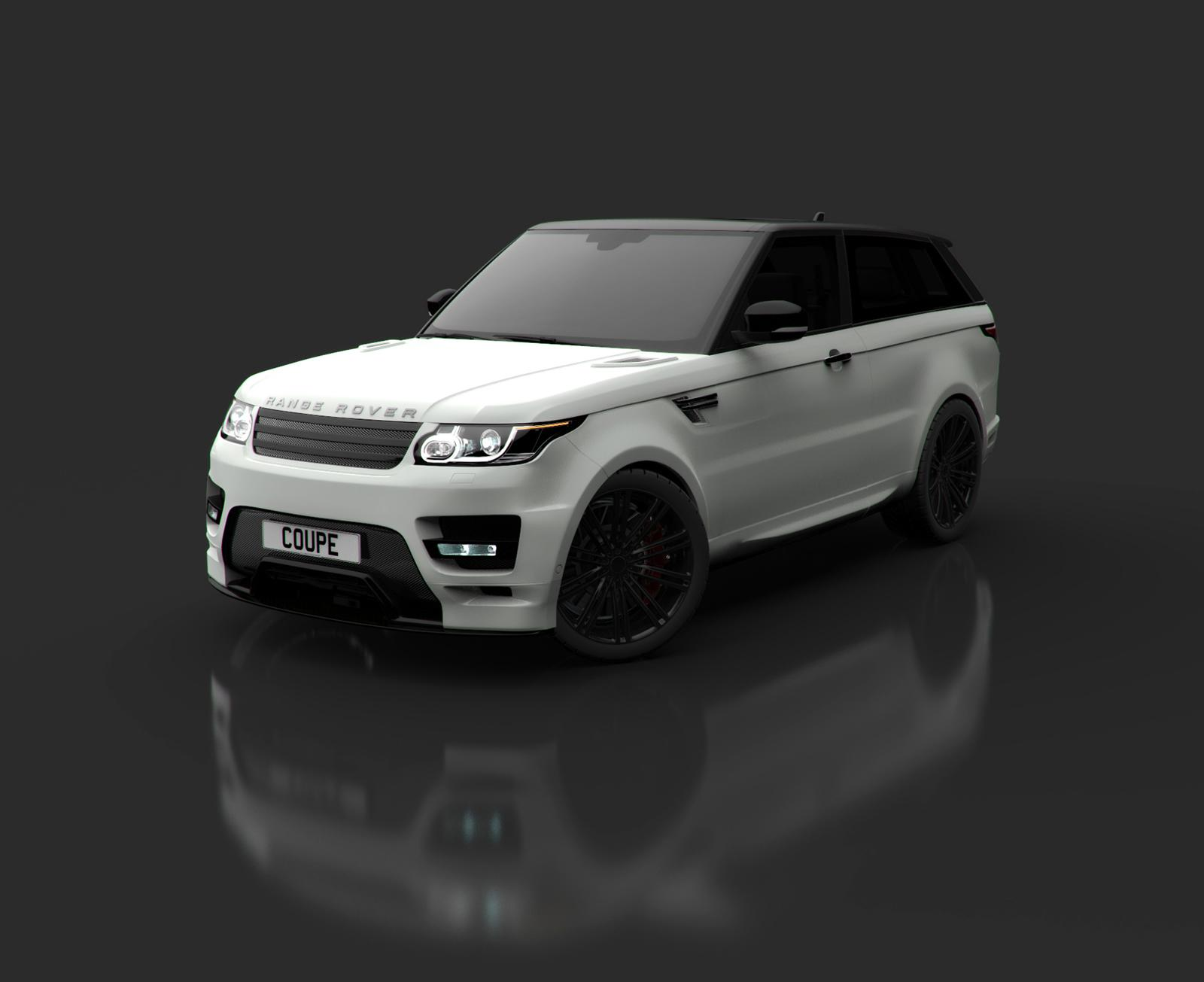 Bulgari Design Land Rover Range Rover Coupe custom two door SUV