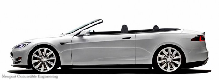 Tesla S 2 door Convertible
