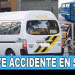 Grave accidente entre SITP y ruta escolar en Suba deja varios niños heridos