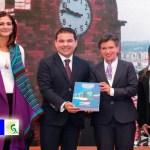 Alcaldesa Claudia López da la bienvenida del Regio-Tram de Occidente a Bogotá