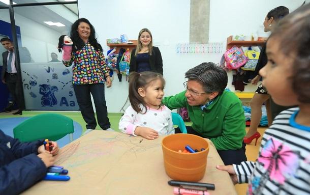Buenas noticias, Distrito dispone de 2.000 cupos en jardines infantiles