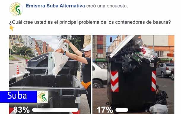 ¿Cansado del mal uso de los contenedores de basura en tu barrio? Esta invitación es para ti