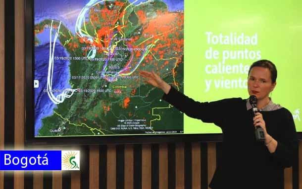 Razones por las cuales la calidad del aire en Bogotá no mejora