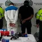 Policía capturó a 4 personas y recuperó elementos hurtados en Kennedy y Bosa
