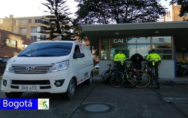 Hurto de bicicletas aumenta en Bogotá debido a la pandemia