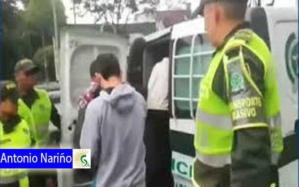 Capturan a dos menores de edad, cometiendo hurtos a pasajeros del SITP lloraron y pidieron la presencia de sus mamitas