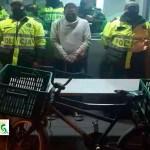 Capturado sujeto que hurtó una bicicleta frente a un almacén de víveres en el barrio Caminos de la Esperanza
