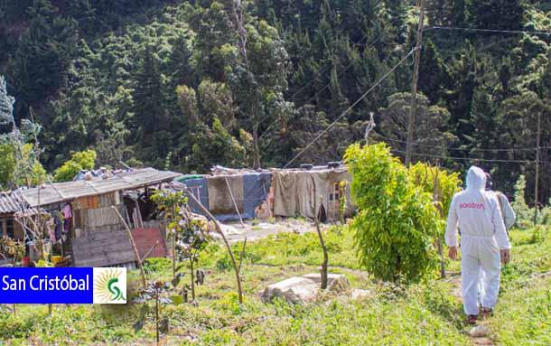 Alcaldía Local de San Cristóbal frena construcciones ilegales en Cerros Orientales