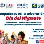 Hoy, celebración del Día Internacional para los Migrantes en Santa Cecilia y Lisboa de Suba desde las 10:00 a.m.