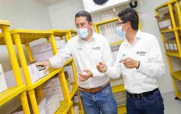 Boyacá cuenta con uno de los mejores Centros de Almacenamiento de Vacunas para COVID-19