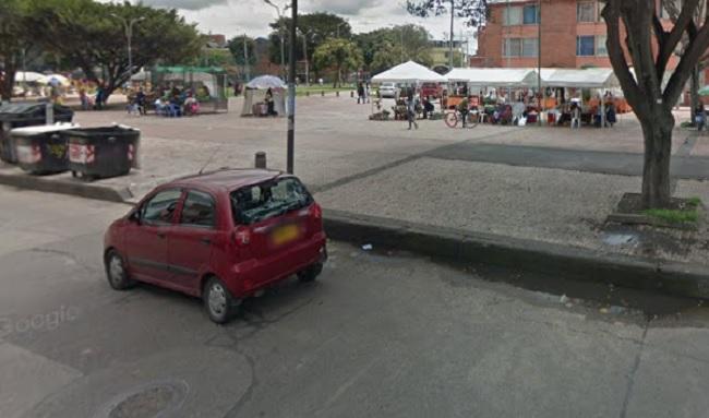 Aumentan el hurto callejeros en la alameda del barrio Toscana en Suba
