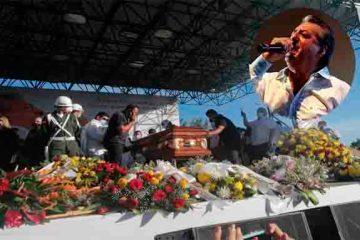 """Jorge Oñate fue sepultado en su tierra natal, """"La Paz"""""""
