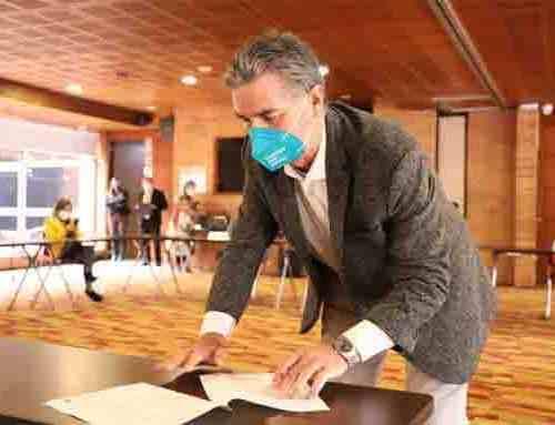 Unidad de Mantenimiento Vial (UMV) firma contrato que beneficiará a 600 trabajadores