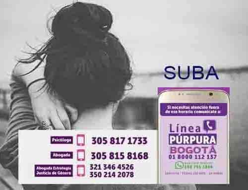 Estos son los puntos de atención de violencias contra la Mujer en Suba