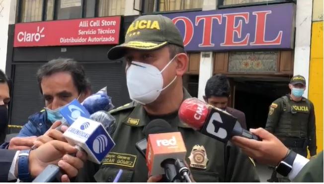 Se registra balacera en el centro de Bogotá, hay un muerto y tres heridos
