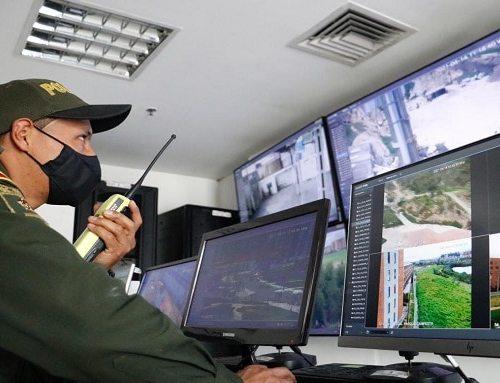 Soacha activa 50 cámaras nuevas de seguridad para cuidar a los ciudadanos