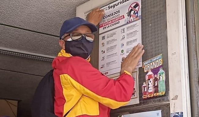 Inician campañas para prevenir el hurto en sus diferentes modalidades en el comercio en Suba