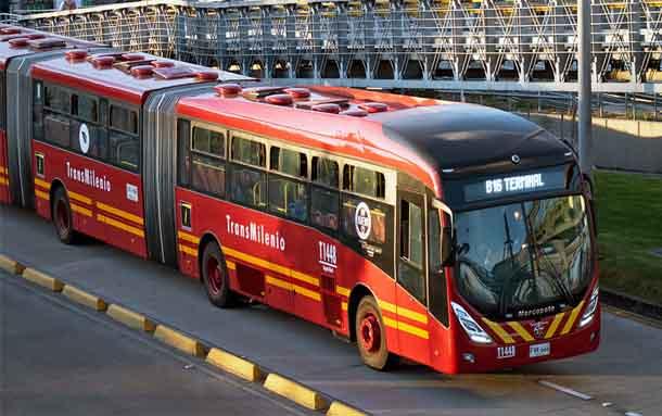 TransMilenio aumentará desde hoy la oferta de buses en algunos puntos y horarios