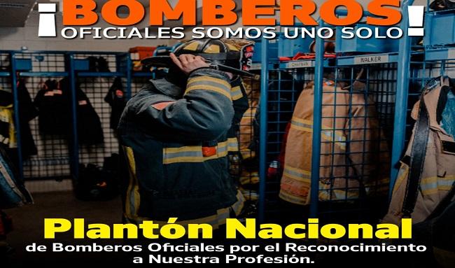 Con 'plantón' más de 2.000 bomberos de Colombia protestarán por mejores condiciones laborales