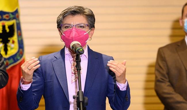 Alcaldesa presentó a comerciantes y empresarios la propuesta para reabrir Bogotá